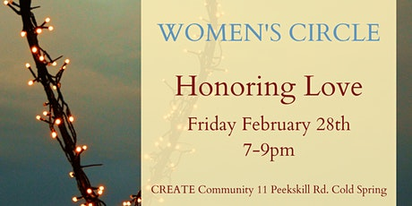 Monthly Women's Circle: Honoring Love tickets
