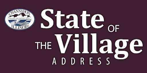 2020 Village of Channahon State of the Village Address