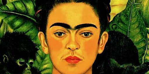 Paint the Famous portrait from Frida Kahlo