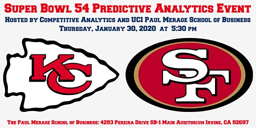 Super Bowl 54 Predictive Analytics Event!