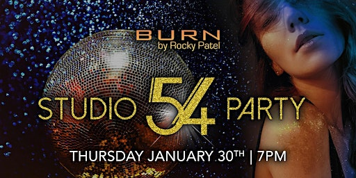 Studio 54 Party at BURN by Rocky Patel Naples