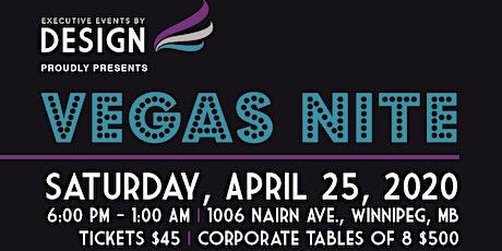 Vegas Nite Fundraiser  tickets
