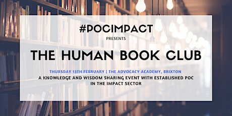 #POCIMPACT: The Human Book Club Event tickets