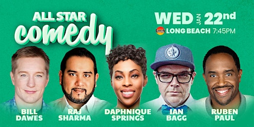 Daphnique Springs, Ian Bagg, and more - All-Star Comedy