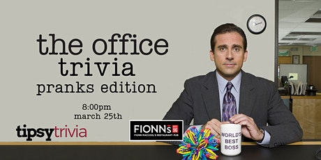 The Office Trivia - March 25, 8:00pm - Barrie Fionn MacCool's tickets