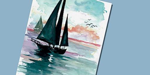 Sailing Paint Party