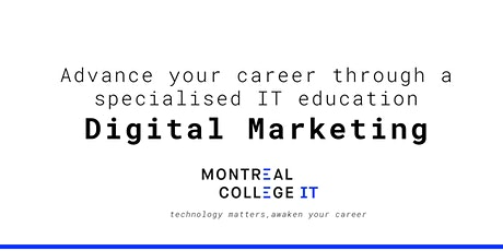 Digital Marketing Jobs in Montreal - Info Session   tickets