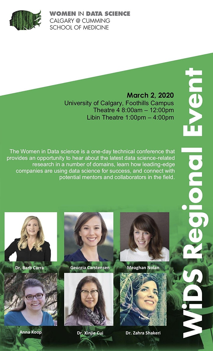 Women in Data Science Conference, Foothills Campus image