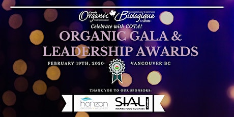 2020 Organic Gala & Leadership Awards tickets