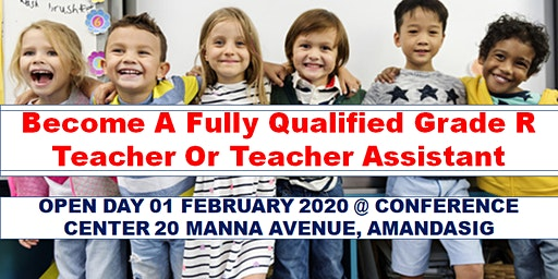 Become a Fully Qualified GRADE R Teacher or Teacher Assistant