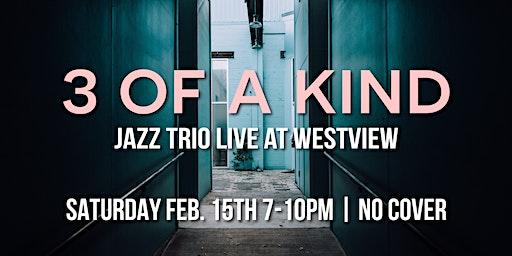3 of a Kind Jazz Trio