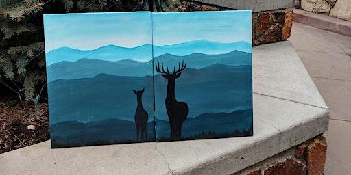 Love You Deerly Paint n Sip