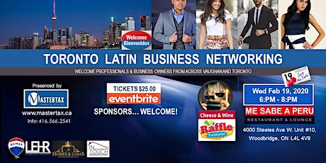 TORONTO LATIN BUSINESS NETWORKING tickets