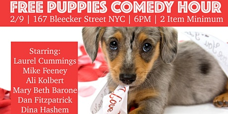 FREE PUPPIES Comedy Hour Valentine Show! tickets