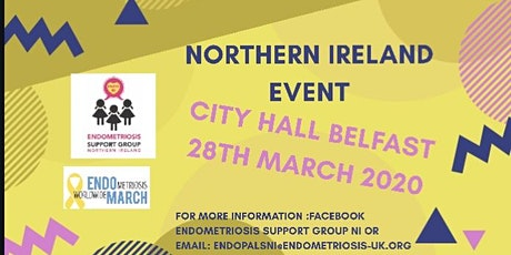 EndoMarch 2020 Northern Ireland tickets