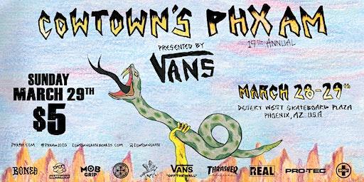 Cowtown's 19th Annual PHXAM - Finals @ Desert West Skateboard Plaza