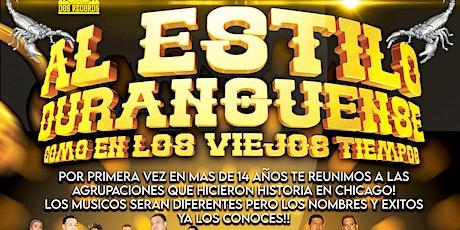 Al Estilo Duranguense! tickets