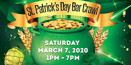 St Patricks Day Bar Crawl Patchogue  3/7/20