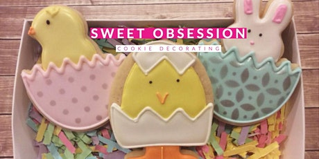 Sweet Obsession Cookie Decorating tickets