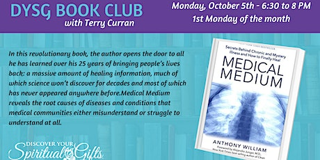 Book Club: Medical Medium by Anthony William tickets