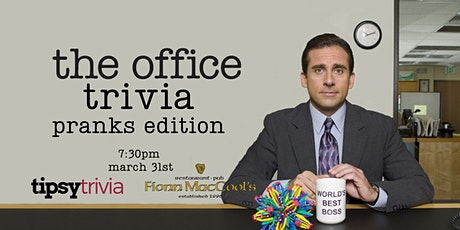 The Office Trivia - March 31, 7:30pm - Kitchener Fionn MacCool's tickets
