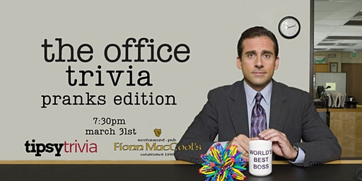 The Office Trivia - March 31, 7:30pm - Kitchener Fionn MacCool's