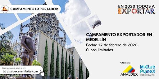 Campamento exportador - Mi Club Pymex en Medellín