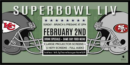 Super Bowl LIV Brunch & Viewing Party @ Novela!