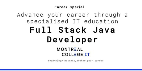 Java Full Stack Developer Jobs in Montreal - Info Session tickets