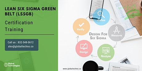 Lean Six Sigma Green BeltCertification Training in  Niagara-on-the-Lake, ON tickets