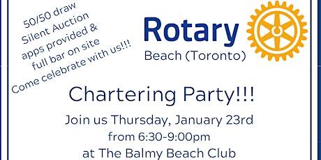 Toronto Beach Rotary Chartering Party tickets