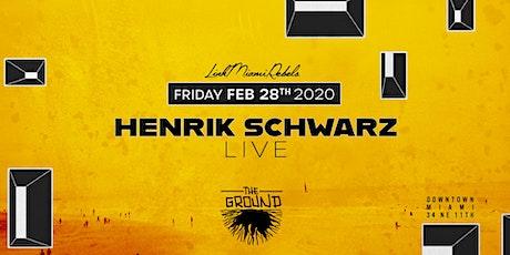 Henrik Schwarz LIVE at The Ground tickets