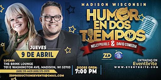"""Nelly Pujols & David Comedia  """"Humor en Dos Tiempos"""""""