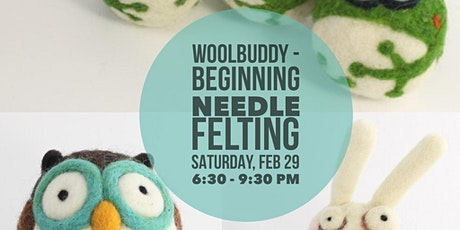 Woolbuddy - Beginning Needle Felting tickets