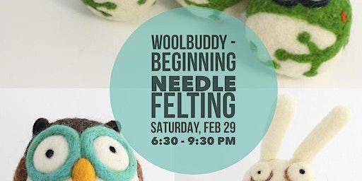 Woolbuddy - Beginning Needle Felting