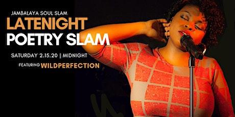 Jambalaya Soul Slam Late Night Poetry Slam tickets