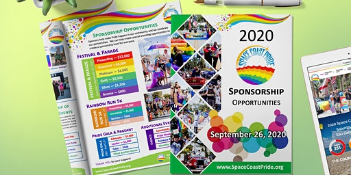 Space Coast Pride 2020 - Sponsor Registration