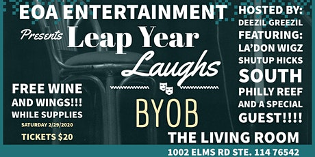 Leap Year Laughs Presented by EOA Entertainment  tickets