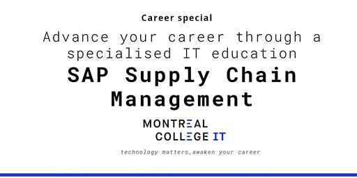 Supply Chain Management: SAP Jobs in Montreal - Info Session