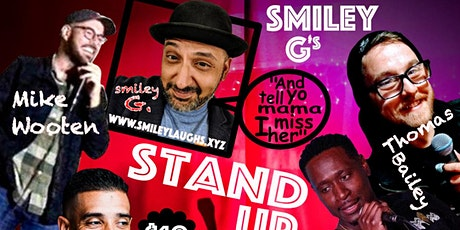 Smiley G.'s Stand-UP Evening of Comedy tickets