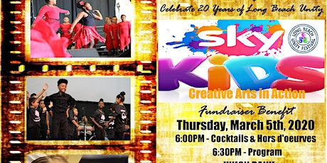 LB UNITY 20th ANNIVERSARY BENEFIT & SKY KIDS CREATIVE ARTS FUNDRAISER  tickets
