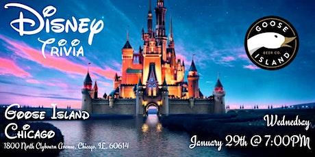 Disney Trivia at Goose Island Chicago tickets