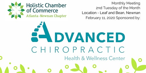 Atlanta/Newnan Chapter Meeting -What is Holistic to you?