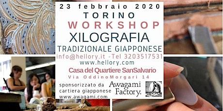 CORSO XILOGRAFIA GIAPPONESE TORINO 2020 biglietti