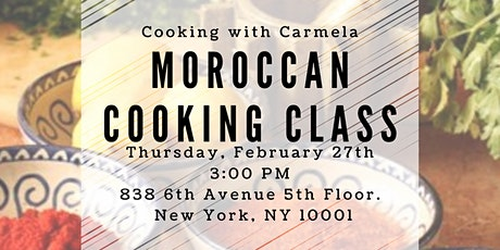 Moroccan Cooking Class tickets