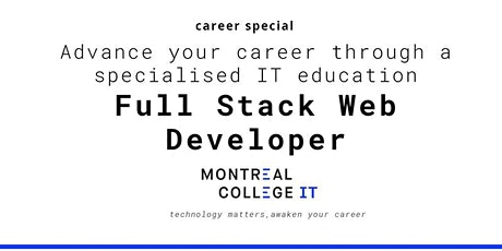 Web Developer Program Jobs in Montreal - Info Session  tickets