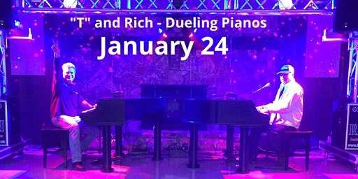"""""""T"""" and Rich Dueling Pianos"""