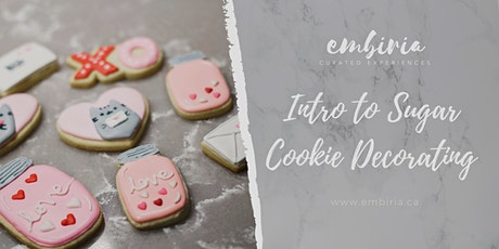 Embiria presents Intro to Sugar Cookie Decorating tickets