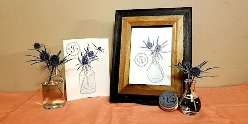 Personalized Floral Watercolor Card Painting Class