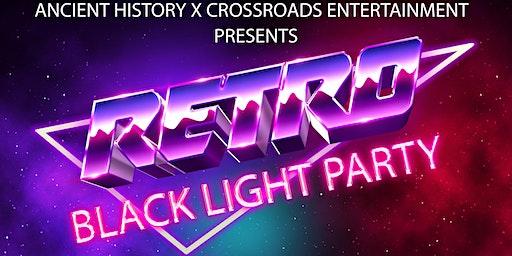 Retro Black Light Party